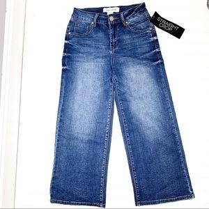 Ashley Mason Sz 3 straight crop jeans